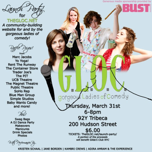 G.L.O.C. Launch Party