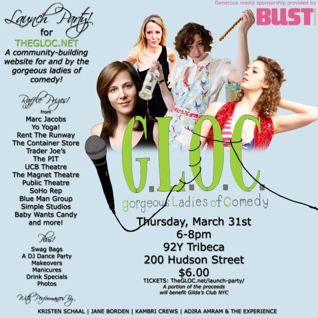 G.L.O.C. Launch Party
